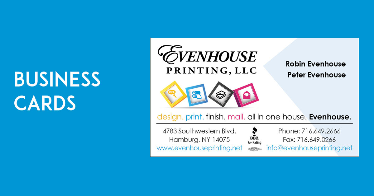 Business cards evenhouse printing reheart Images